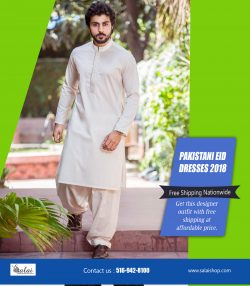 Pakistani Eid dresses 2018 | https://salaishop.com/