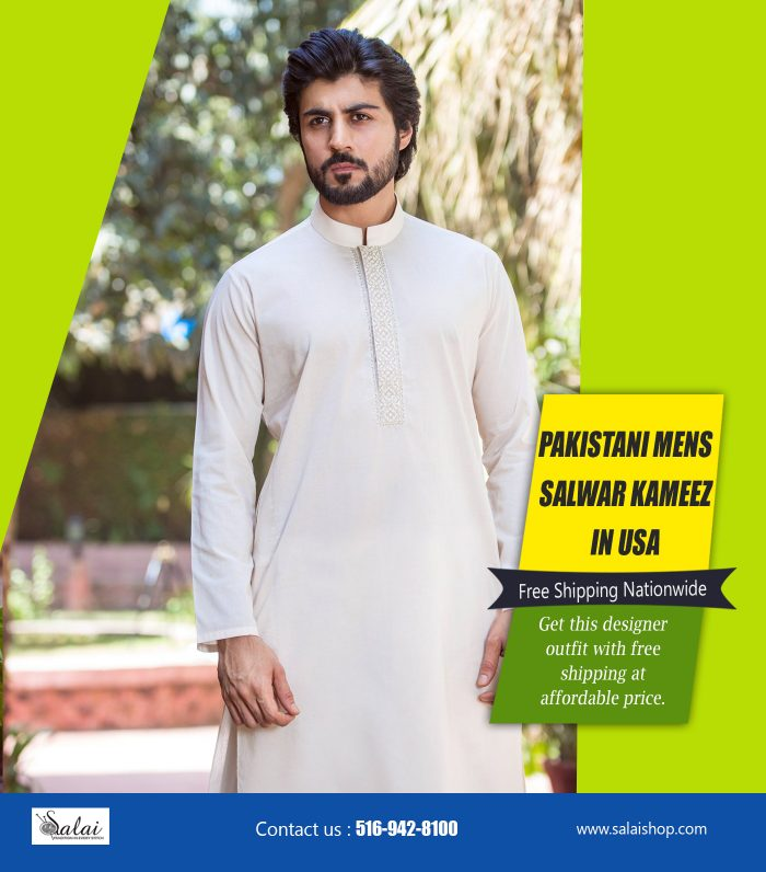 Pakistani Mens Salwar Kameez In USA | https://salaishop.com/
