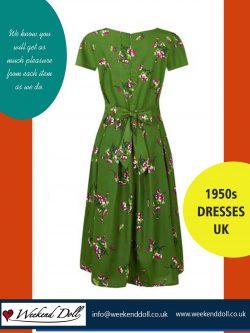 1940s style dresses