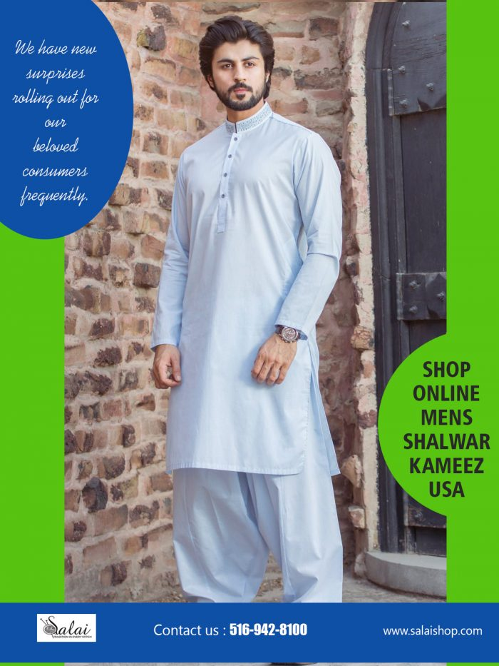 Shop Online Mens Shalwar Kameez USA | https://salaishop.com/