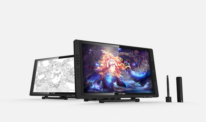 XP-Pen Artist 22E Pro Grafiktablett zeichentablett mit Display für Illustratoren