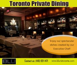 Toronto private dining
