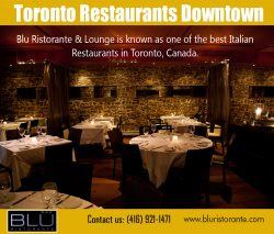 Toronto private restaurant rooms