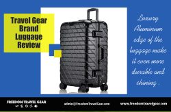 Travel Gear Brand Luggage Review | https://www.freedomtravelgear.com/