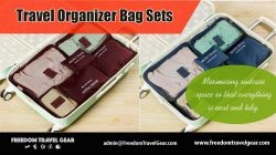 Travel Organizer Bag Sets | https://www.freedomtravelgear.com/