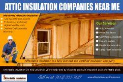 Attic Insulation Companies Near Me | affordableinsulationmn.com