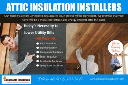 Attic Insulation Installers | affordableinsulationmn.com