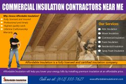 Commercial Insulation Contractor Near Me | affordableinsulationmn.com