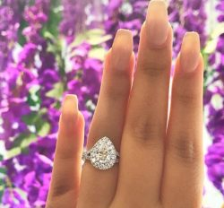 Diamond Engagement Ring Little Neck|http://OKGJewelry.com