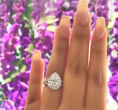 Diamond Engagement Ring Little Neck|http://OKGJewelry.com