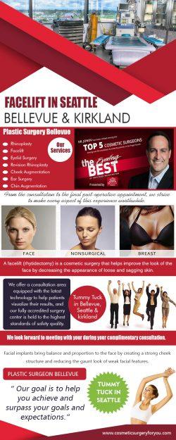 Facelift in Seattle, Bellevue & Kirkland 2 | cosmeticsurgeryforyou.com