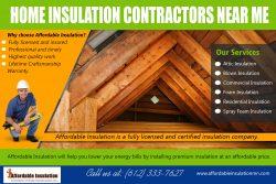 Home Insulation Contractors Near Me | affordableinsulationmn.com