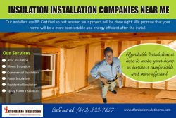 Insulation Installation Companies Near Me | affordableinsulationmn.com