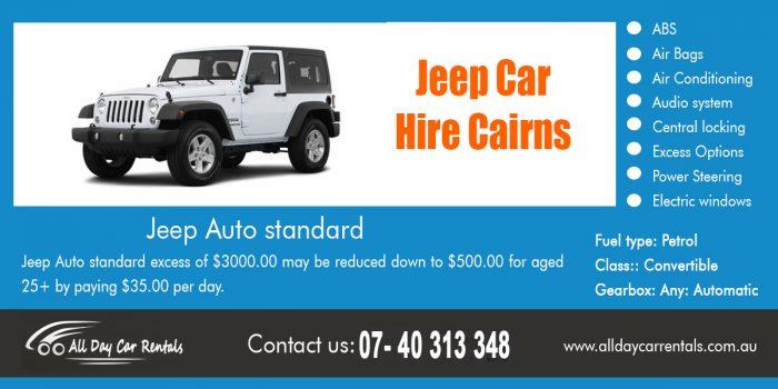 Jeep Car Hire Cairns