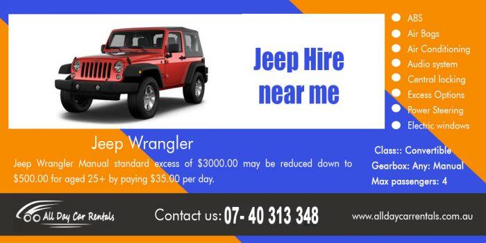 Jeep Hire near me