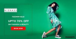 Upto 70% Off Nisnass Fashion Sale