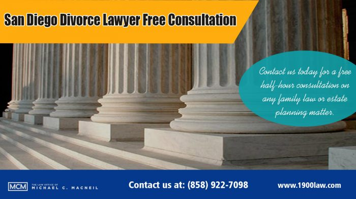 San Diego Divorce Lawyer Free Consultation -858-922-7098