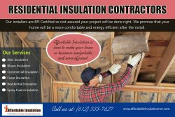 Residential Insulation Contractors | affordableinsulationmn.com