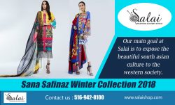 Sana Safinaz Winter Collection 2018
