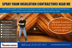 Spray Foam Insulation Contractors Near Me | affordableinsulationmn.com