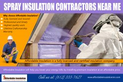 Spray Insulation Contractors Near Me | affordableinsulationmn.com