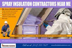 Spray Insulation Contractors Near Me | affordableinsulationmn.com