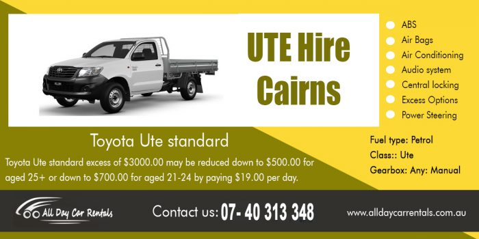 UTE Hire Cairns