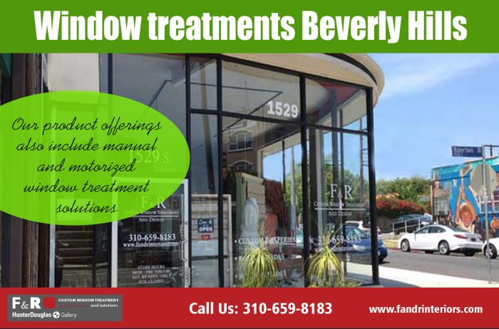 Window treatments Beverly Hills | http://fandrinteriors.com/