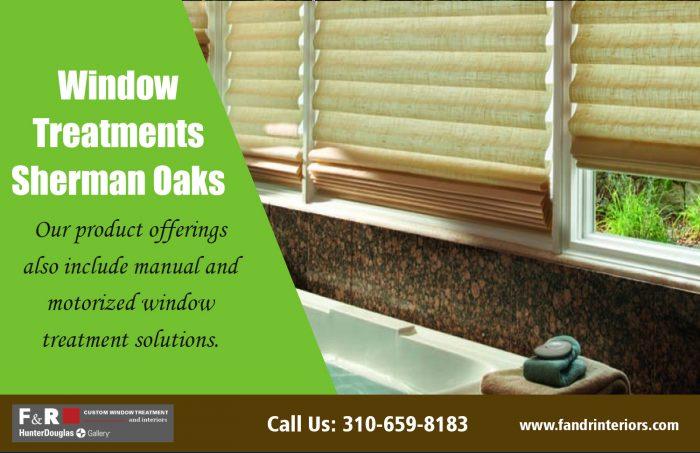 Window treatments Sherman Oaks| http://fandrinteriors.com/