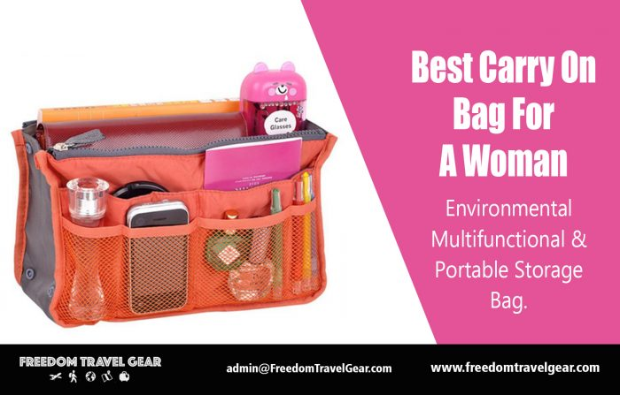 Best Carry On Bag For A Woman