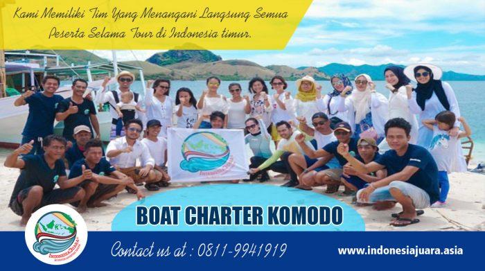 Boat Charter Komodo | indonesiajuara.asia