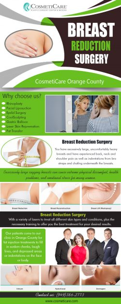 Breast reduction surgery experts repairs separated muscles