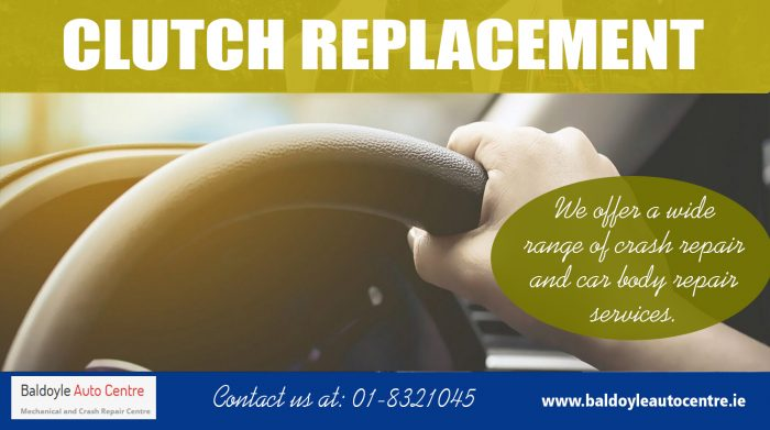 Clutch Replacement|https://baldoyleautocentre.ie/