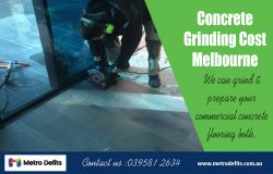 Concrete Grinding Cost Melbourne