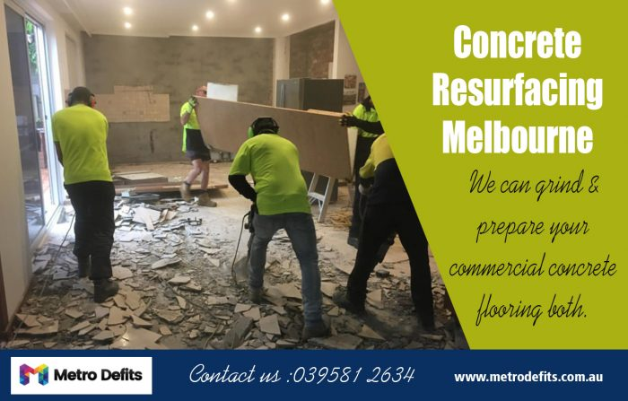Concrete Resurfacing Melbourne