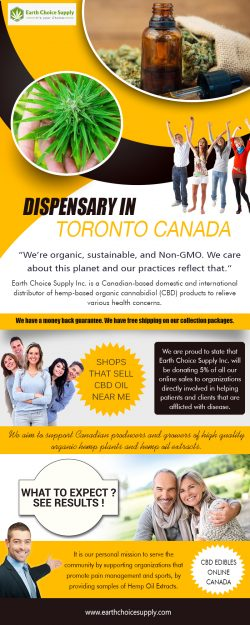 Dispensary in Canada | Call Us – 416-922-7238 | earthchoicesupply.com