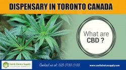 Dispensary in Toronto Canada | Call Us – 416-922-7238 | earthchoicesupply.com