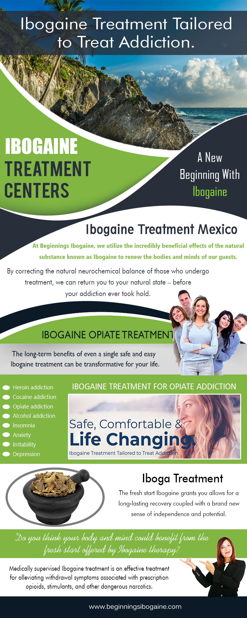 Ibogaine Clinics Treatment|https://beginningsibogaine.com/