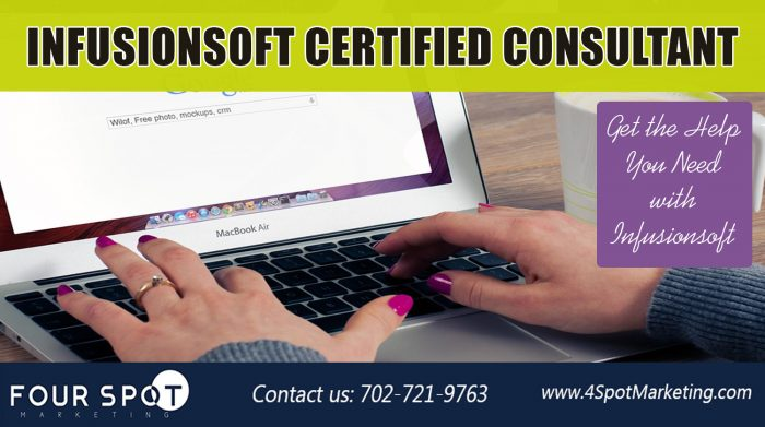 Infusionsoft Certified Consultant https://4spotmarketing.com/