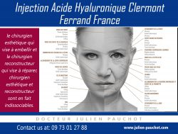 injection acide hyaluronique clermont ferrand|http://www.julien-pauchot.com/