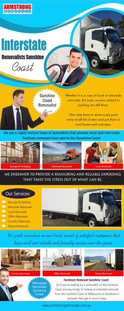 Interstate Removalists Sunshine Coast | armstrongremovals.com.au