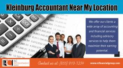 Kleinburg Accountant Near My location