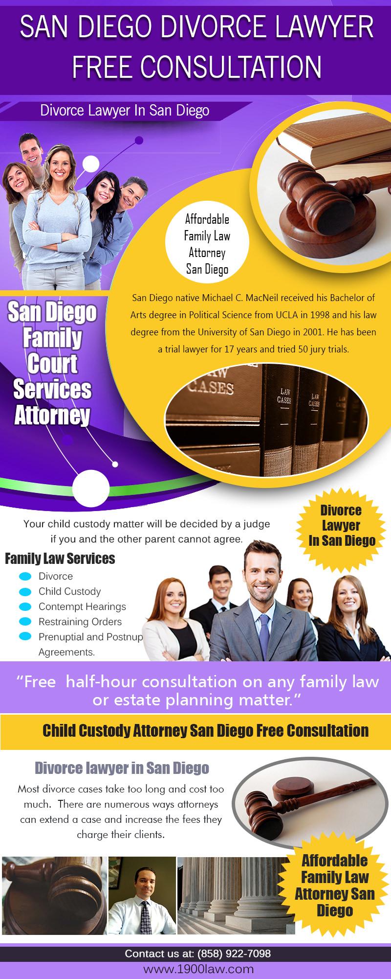 San Diego Divorce Lawyer Free Consultation | (858) 922-7098