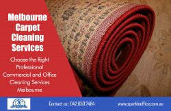 Melbourne Carpet Cleaning Services| Call Us – 042 650 7484 | sparkleoffice.com.au