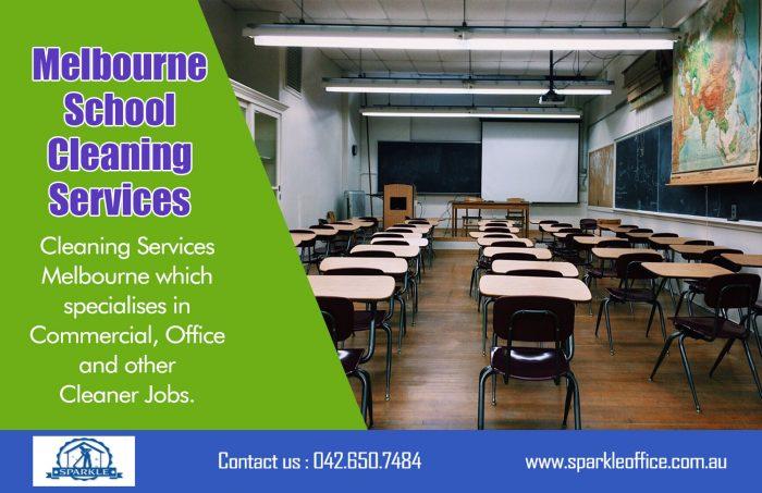 Melbourne School Cleaning Services| Call Us – 042 650 7484 | sparkleoffice.com.au