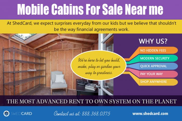 Mobile Cabins For Sale Near me | shedcard.com