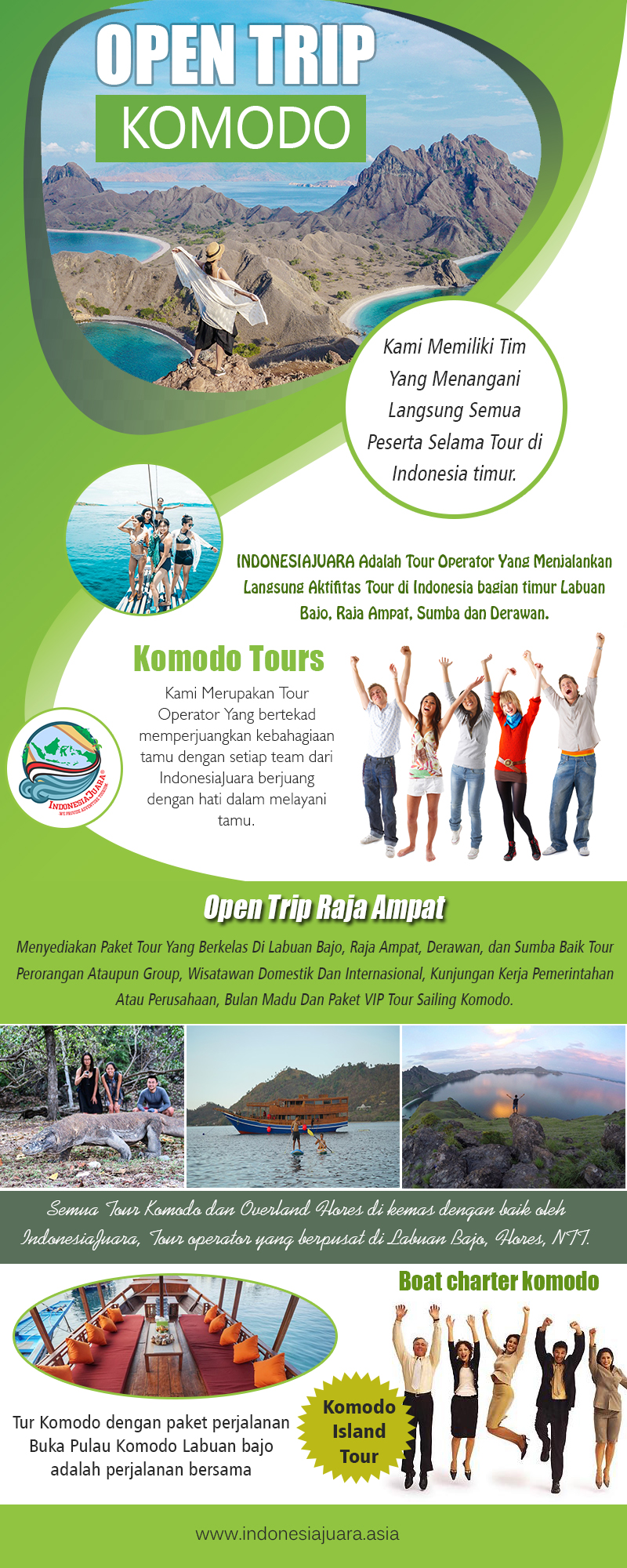 Open Trip Ampat | indonesiajuara.asia