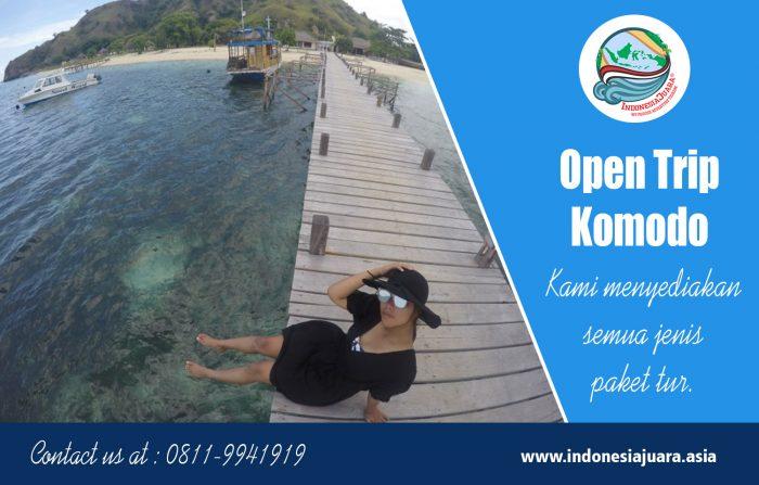 Open Trip Komodo | indonesiajuara.asia