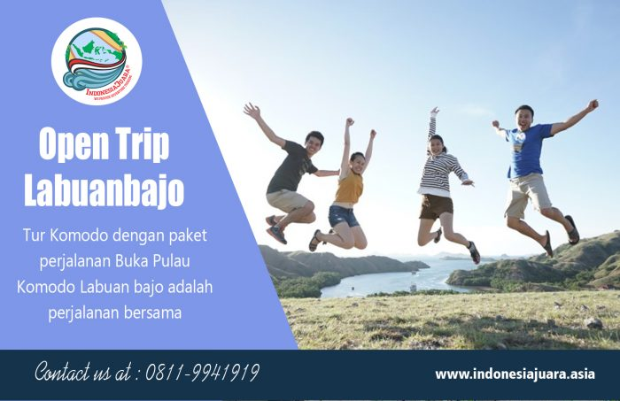 Open trip labuanbajo | indonesiajuara.asia