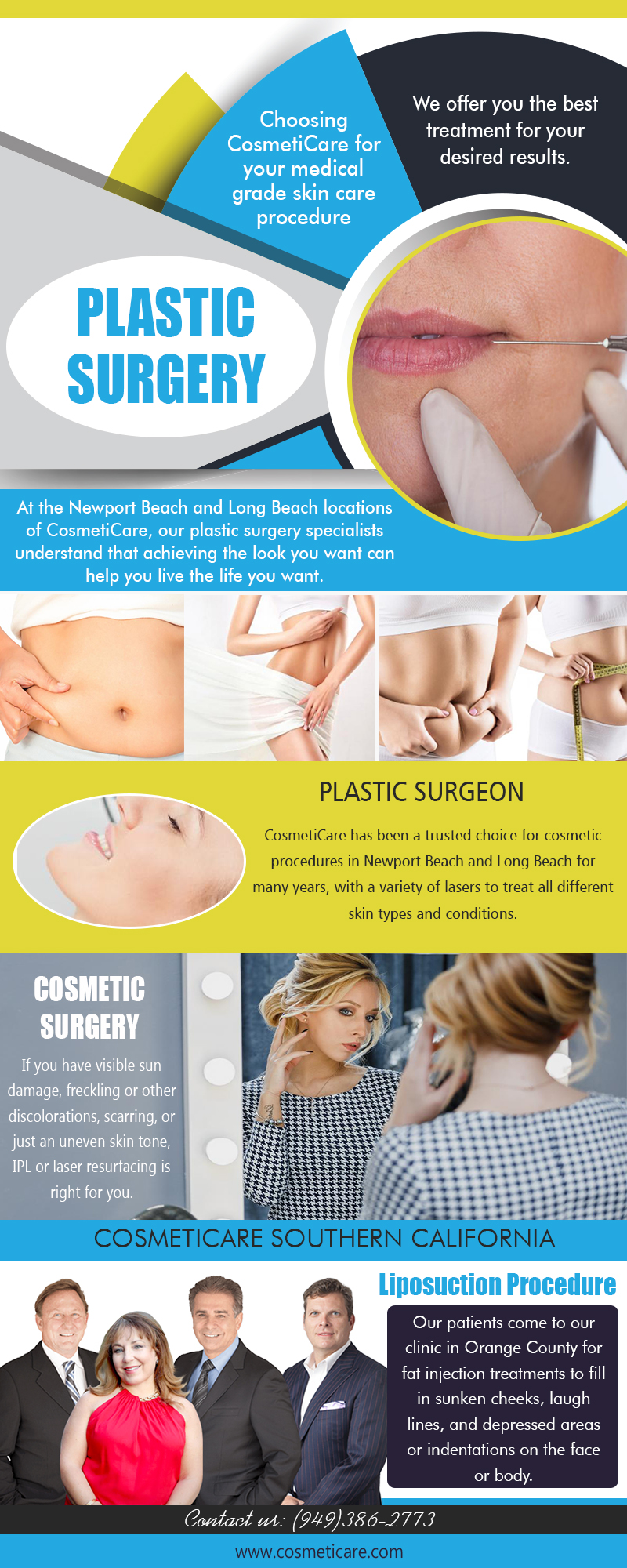 Breast surgery to enhance the appearance, size and contour